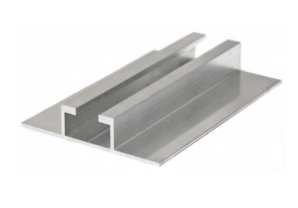 Napelem profil sín talpas 6,2m alumínium trapézlemezhez