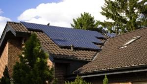 családi ház napelemek