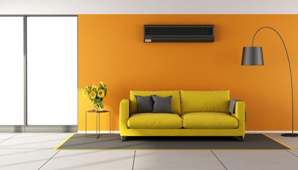 nappali fűtése légkondival